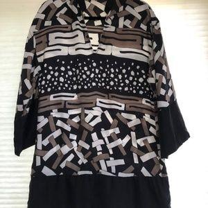 Fabulous 100% Silk Zara Tunic